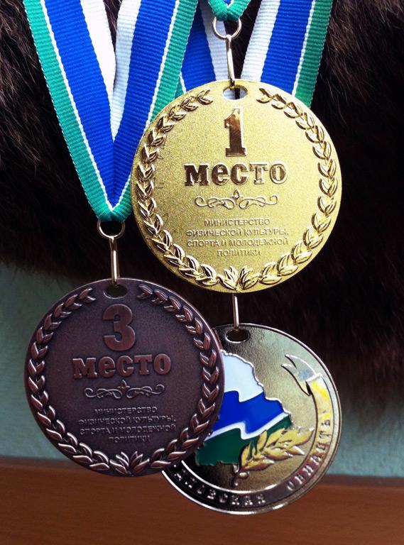 медали для соревнований по рыбалке